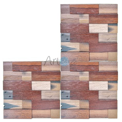 wood wall tiles 3d home walls decorative panels backsplash 3d wooden wall panelling decorative wood panels 10 66 sq ft