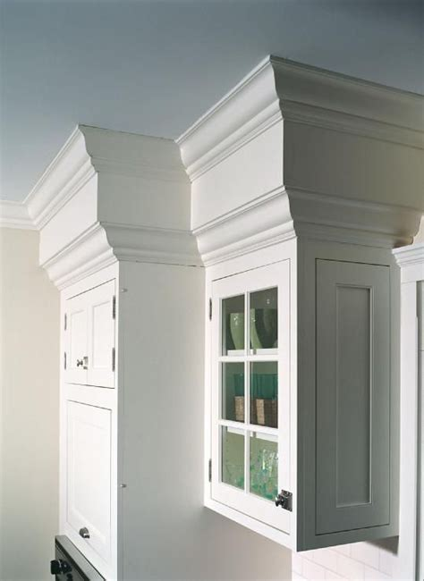 Hide The Ugly Popcorn Covered Soffets In My Kitchen Kitchen Soffit Crown Molding