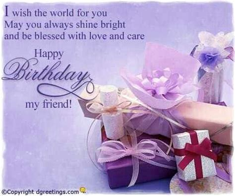 Happy Birthday Wishes To My Special Friend Happy Birthday My Friend Pictures Photos And Images For