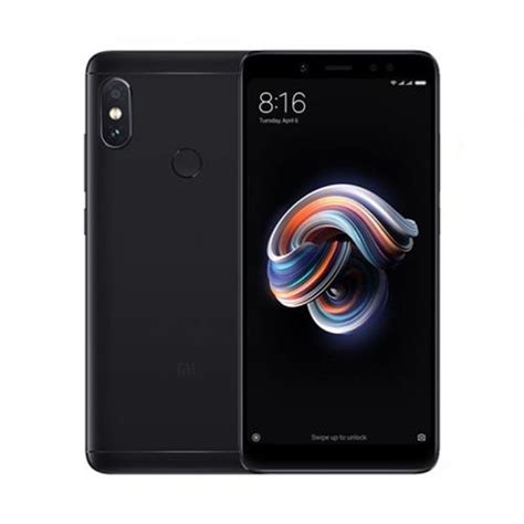 Xiaomi Redmi Note 5 Pro xiaomi redmi note 5 pro 5 99 inch 6gb 64gb smartphone black