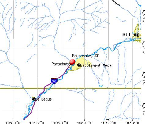 parachute colorado map parachute colorado co 81635 profile population maps