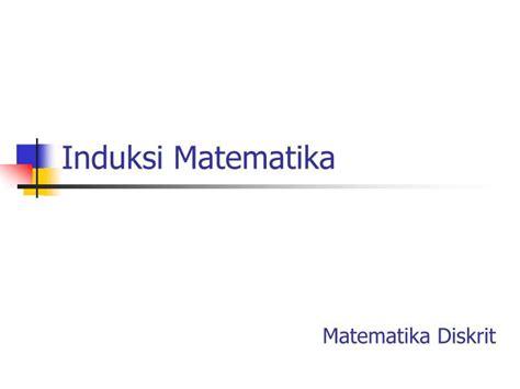 design powerpoint matematika ppt induksi matematika powerpoint presentation id 4714757