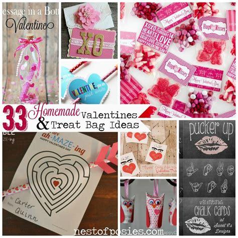simple valentines ideas 33 valentines treat bag ideas nest of posies