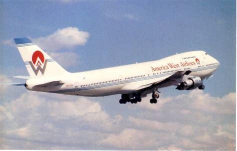 america west airlines vintage poster usair collectors 1989 nagoya japan 17 quot x11 quot ebay