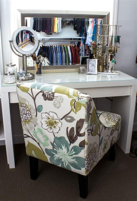 diy vanity table diy makeup vanity mornings better