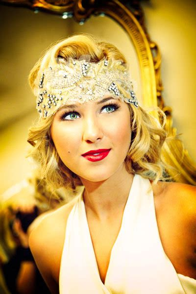 hair styles from roaring 20s 30s glamorous gatsby inspired wedding ideas bridalguide
