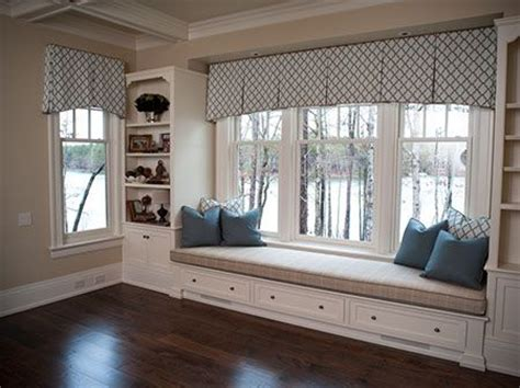 valance box pleats 3 windows great treatment for