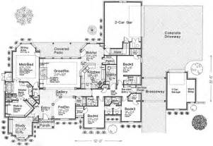 8 Gladstone Floor Plans by European Style House Plans Plan 8 523