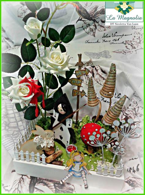 nel paese delle meraviglie fiori nel paese delle meraviglie centrotavola