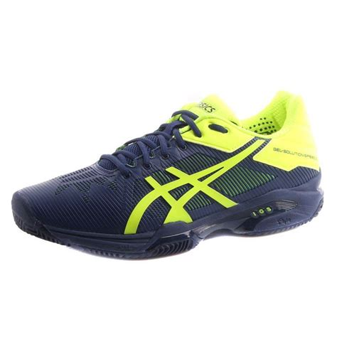 asics gel solution speed 3 mens tennis shoes ss17