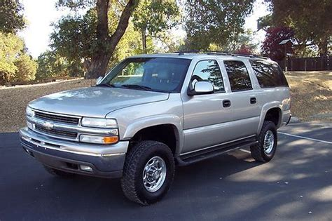 all car manuals free 2006 chevrolet suburban 2500 interior lighting buy used 2006 chevy suburban 2500 4x4 lbz duramax diesel conversion salvage in atascadero