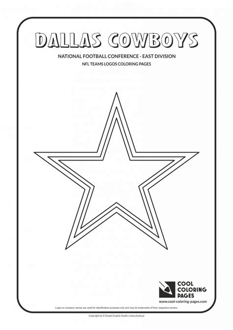 cowboys football coloring page dallas cowboys helmet coloring pages