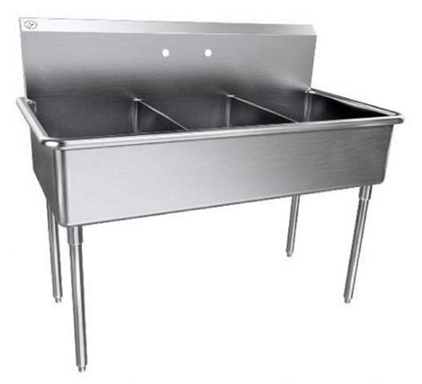 3 compartment sink price stainless steel three compartment scullery sink