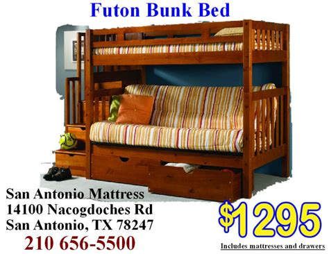 Futon Store San Antonio Tx Bunk Beds In San Antonio