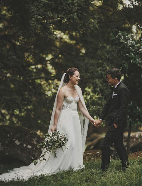 rustic new zealand backyard wedding benjamin