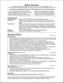 sample resume technician technician resume samples