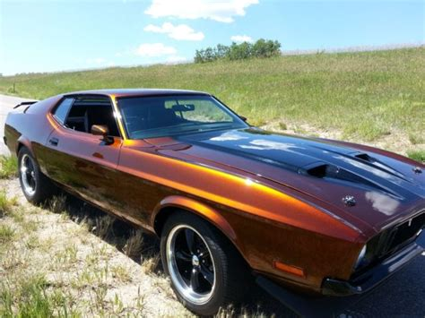 1973 ford mustang sportsroof fastback mach 1 burnt orange for sale used cars for sale 1973 ford mustang sportsroof fastback mach 1 521ci 1972 1971 1970 1969 1968 1967 classic ford