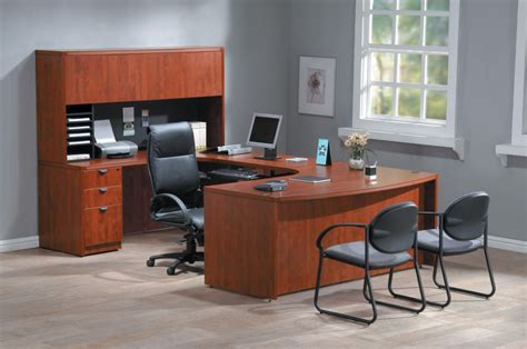 Minimalist L Shaped Desk cherry wood office desk gorgeous office remodelling of