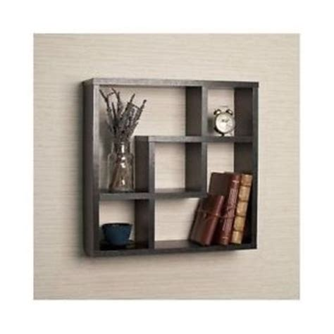wall mounted floating shelves storage display home decor