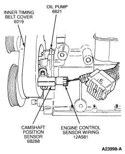 I Need Location Of Camshaft Position Sensor And Proper