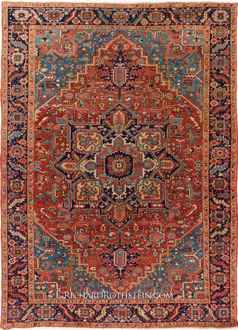 Traditional Antique Heriz Rug C56d9742 Heriz Rug