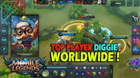 digger mobile legend mobile legend top player digger wordlwide gameplay and