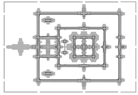 angkor wat floor plan mov youhong angkor wat temple
