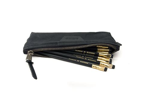 Pencil Pouch blackwing pencil pouch holds 24 unsharpened blackwings