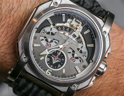visconti w105 2squared chronograph watches on
