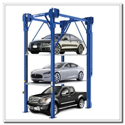 on sale vertical stacker car parking equipment 2 3 4