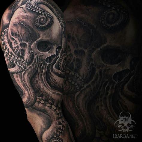 skull octopus tattoo the 25 best skull octopus ideas on tattoos