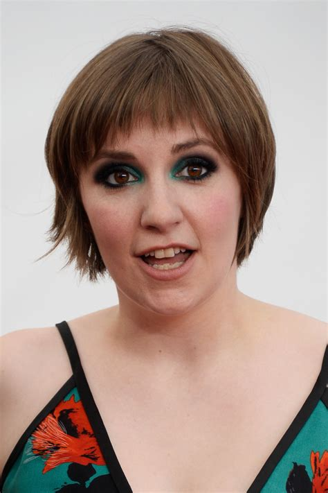 lena dunham short hair lena dunham short cut with bangs short hairstyles