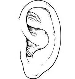 ear template image gallery listening ears template