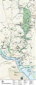 rock map maps rock creek park u s national park service