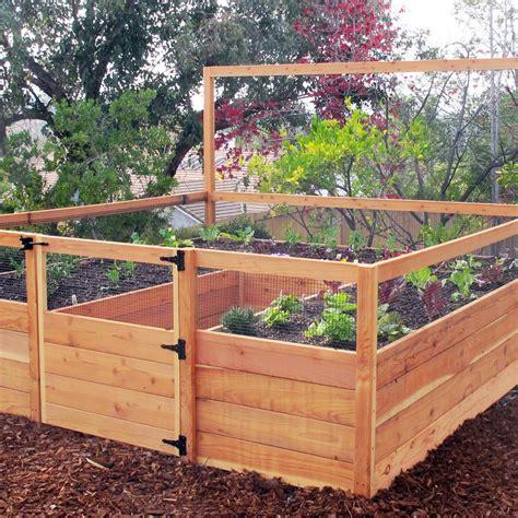 gardens to gro 8 x 8 ft vegetable garden kit raised bed