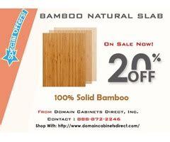 bamboo natural slab home furniture garden supplies