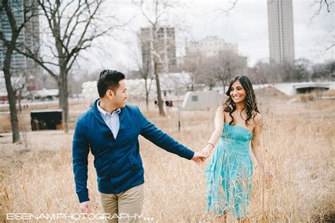 Chicago Engagement Pictures Pinky & Donny   Indian Wedding