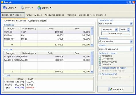 Home Accounting Software by Home Bookkeeping