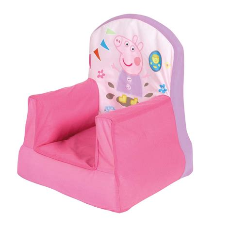 peppa pig bean bag chair peppa pig cosy chair new official bedroom furniture