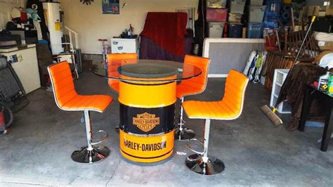 Harley Table And Stools by Harley Davidson Table And Bar Stools Home Design