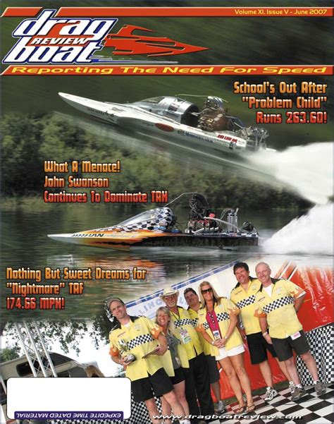 green country drag boat racing drag boat review back issues june 2007