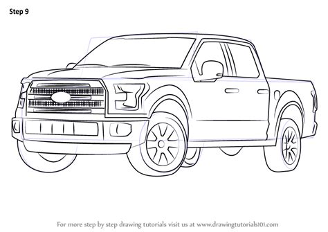 F150 Coloring Page by F150 Ford Truck Free Coloring Pages