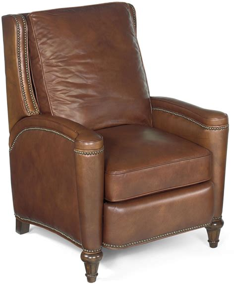 light brown leather recliner rylea light brown recliner rc216 086 hooker furniture