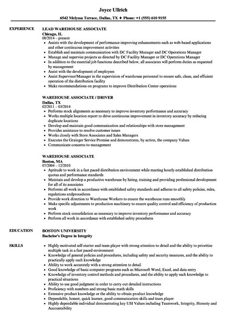 13 warehouse worker resume examples sample resumes sample