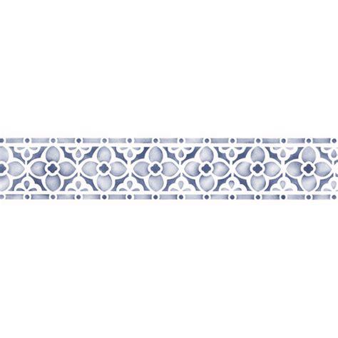 Bathroom Tile For Sale by Border Stencils Flower Chain Border Stencil Royal