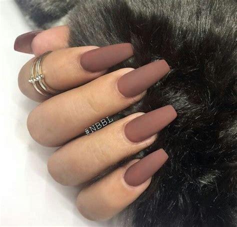 nail matt best 25 brown nails ideas on