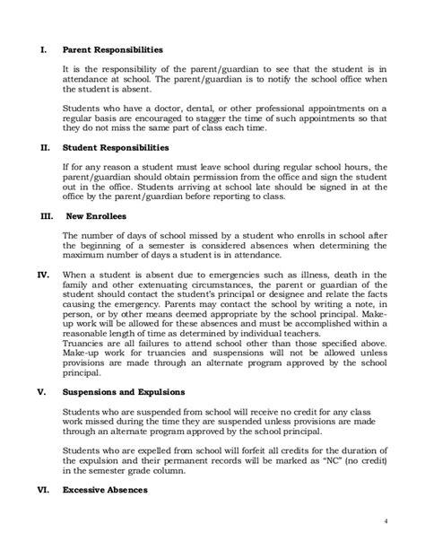 Central Elementary School Student Handbook Elementary School Handbook Templates