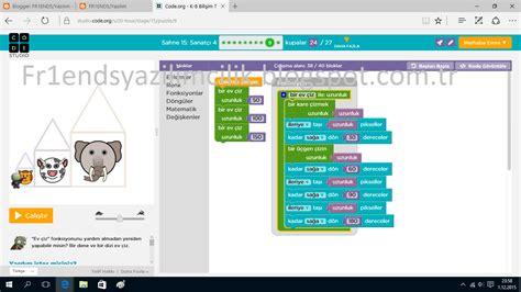 coding level 4 fr1ends yazılım code org sahne 15 sanat 231 ı 4 cevapları