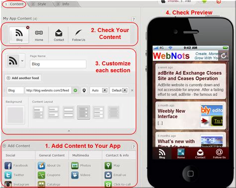 mobile by conduit how to create a mobile app with conduit webnots