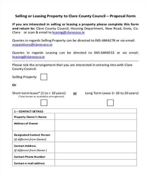 34 proposal sles templates pdf doc